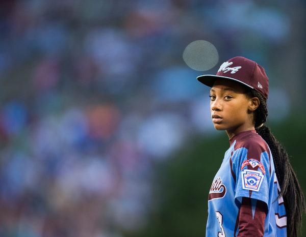 Excellent capture of Mo'Ne Davis. http://t.co/7BSHYY07Ev http://t.co/mBpMfJrwuL