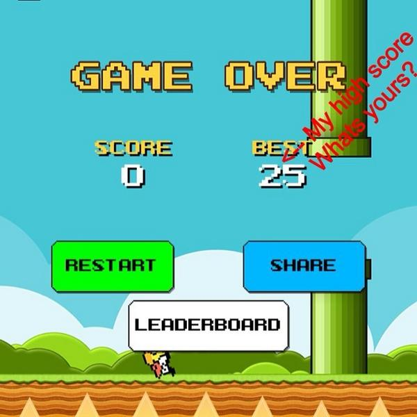ⓒ My best score for flappy bird (25) what's yours? #hastagforlikes #flappybird #lol #randomness #random #highscor...pic.twitter.com/m51Uq96bIC
