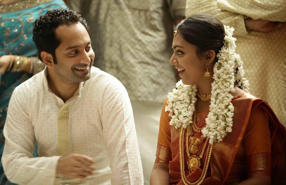 nazriya nazim and fahad fazil marriage veethi