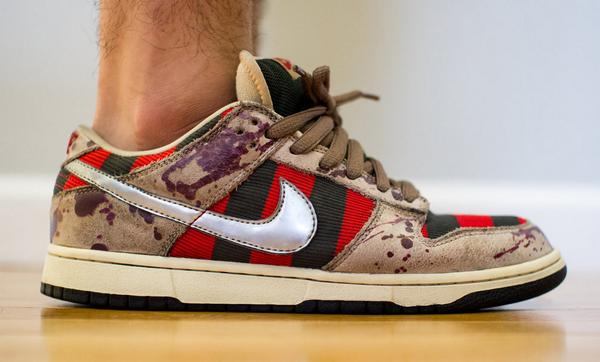 buy online beee0 3af30 ... discount code for nike dunk sb low freddy krueger preview would you cop  a high top