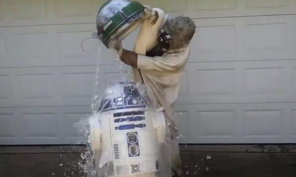The ALS #IceBucketChallenge has travelled to a galaxy far, far, away http://t.co/h0nqMBuGrO via @Metro_Showbiz http://t.co/SWPN3zr3ve