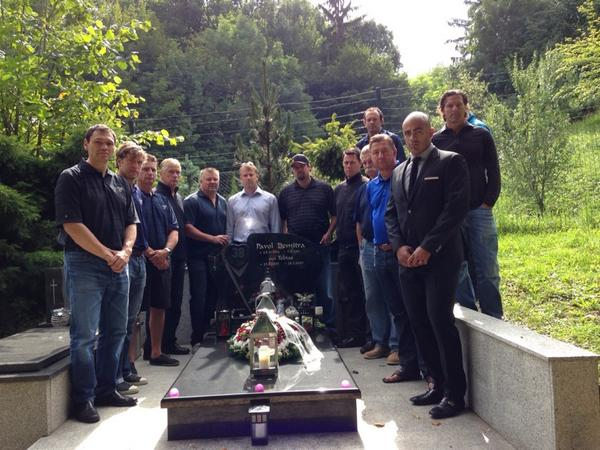 Visit this AM with the resting place of our friend Pavol Demitra http://t.co/qbwCMqxMpk
