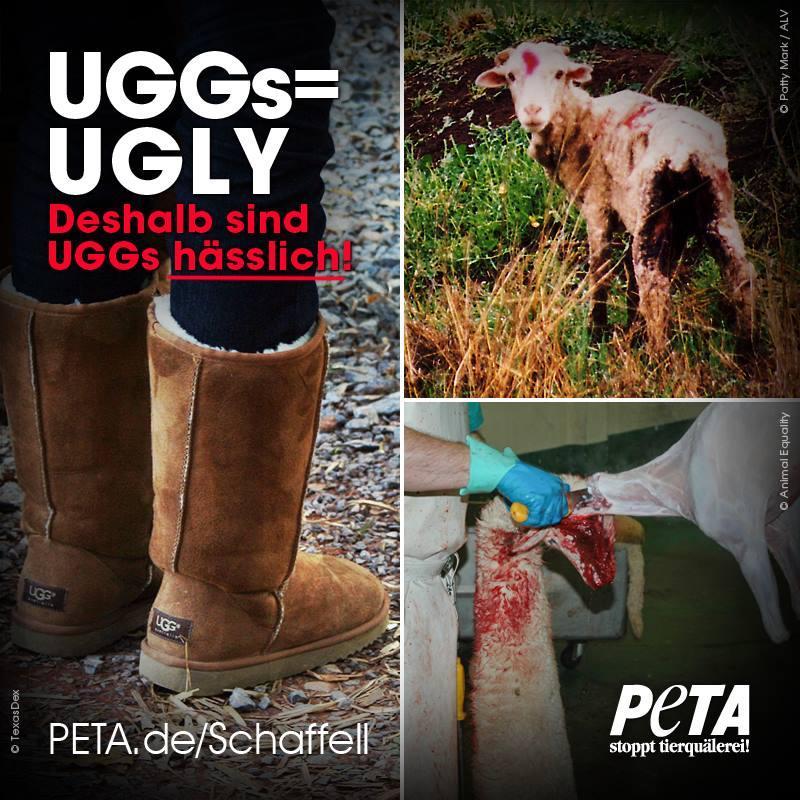 ugg boots peta