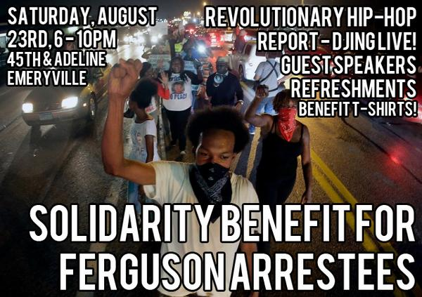 Solidarity Benefit for Ferguson Refugees @ Oakland | California | United States