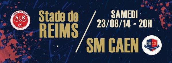 [3e journée de L1] Stade Reims 0-2 SM Caen Bvp0-IjIEAAWEym