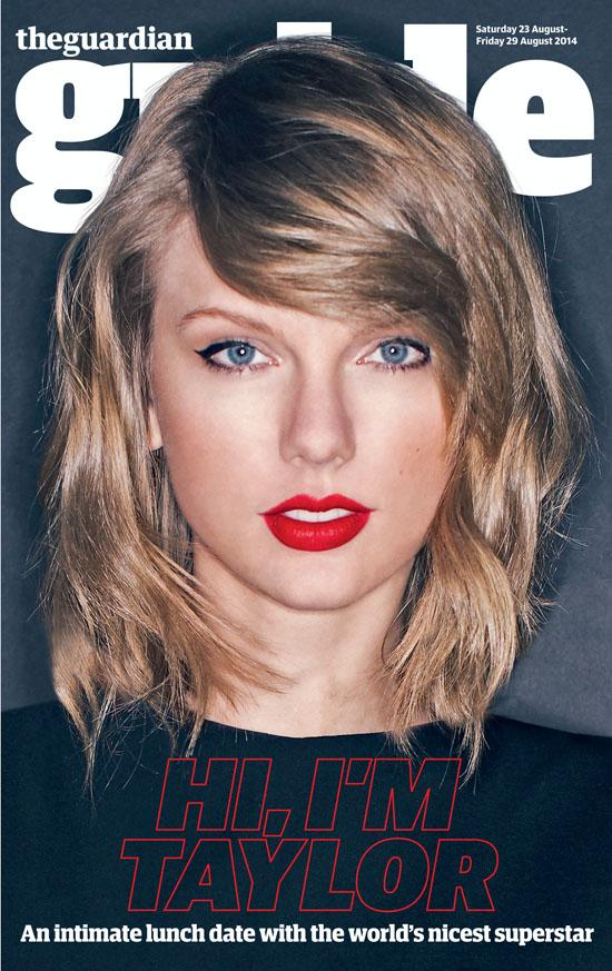 It's @taylorswift13 time! The world's nicest superstar talks exclusively to us in tomorrow's Guide http://t.co/XWdDRu75rZ