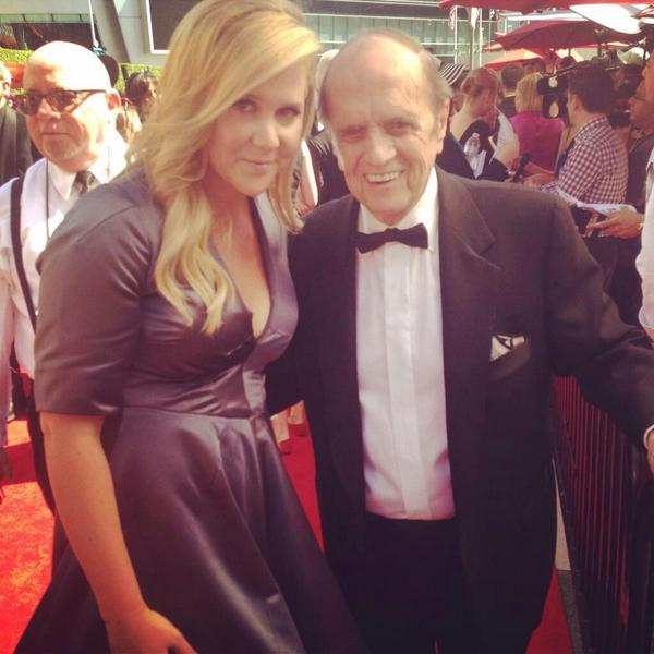 Photo of Bob Newhart & his Daughter Courtney Newhart