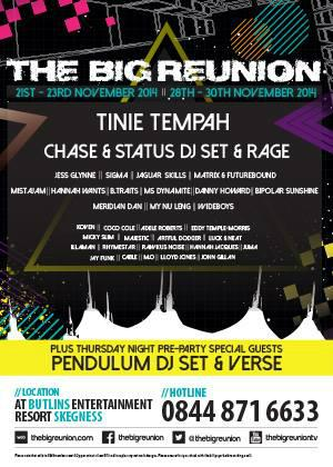 The Big Reunion 2014 Full Line-up: http://t.co/PD51Dx5UP5