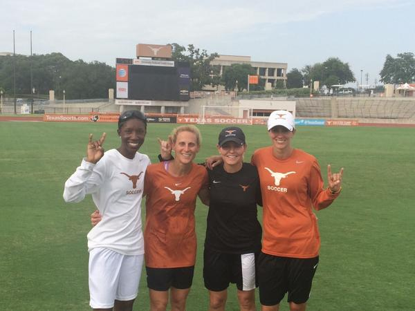 Happy to be part of the Univ. of Texas coaching staff!@TexasSoccer @TexasSports #hook'em http://t.co/AAklHLKZw5