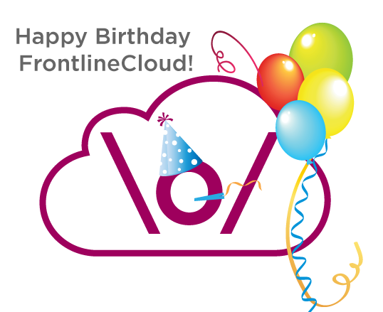 Help us celebrate the 1 year anniversary of FrontlineCloud by letting us know how you've used it in your work! http://t.co/rEcgnqtXZ5