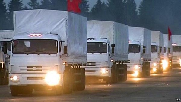 Конвой Путина не поможет террористам и не повлияет на расстановку сил на Донбассе, - МВД - Цензор.НЕТ 4562