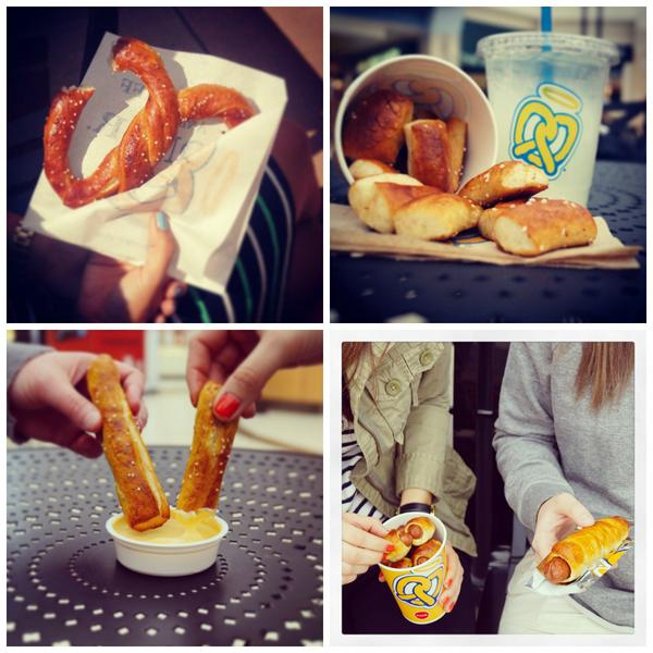 Big or small, pretzels are pretzels. #AuntieUp http://t.co/YATeiC99T1