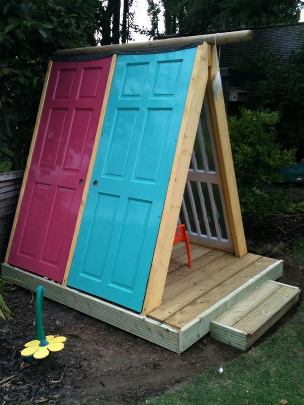 nghs dt on twitter recycle reuse part way through holiday project playhouse made out of. Black Bedroom Furniture Sets. Home Design Ideas