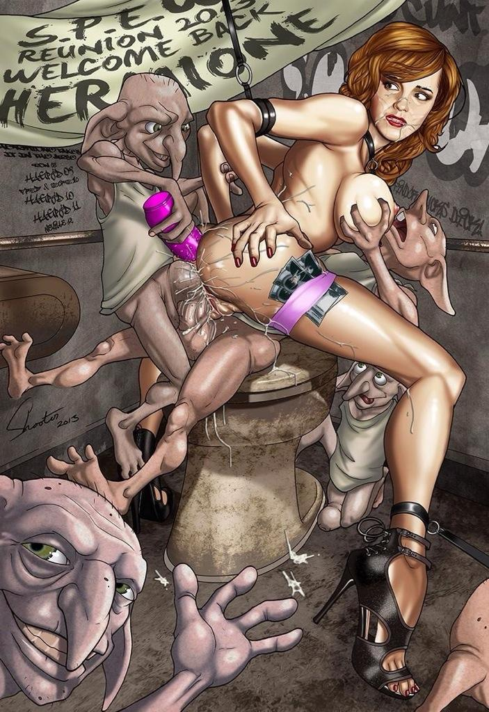 гарри поттер секс голый комикс фото