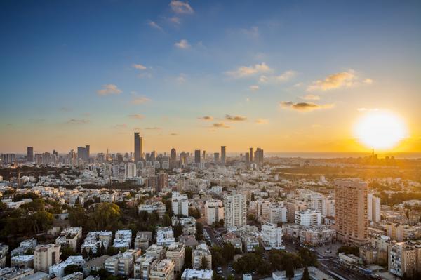 Shabbat Shalom, as the sun sets in Tel Aviv. http://t.co/HN9qtMpZXD