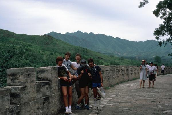 A1: I also did a month in Beijing as the first American kids invited in 1982.  #JAchat It was AMAZING. Great Wall! http://t.co/ENkWRB3Too