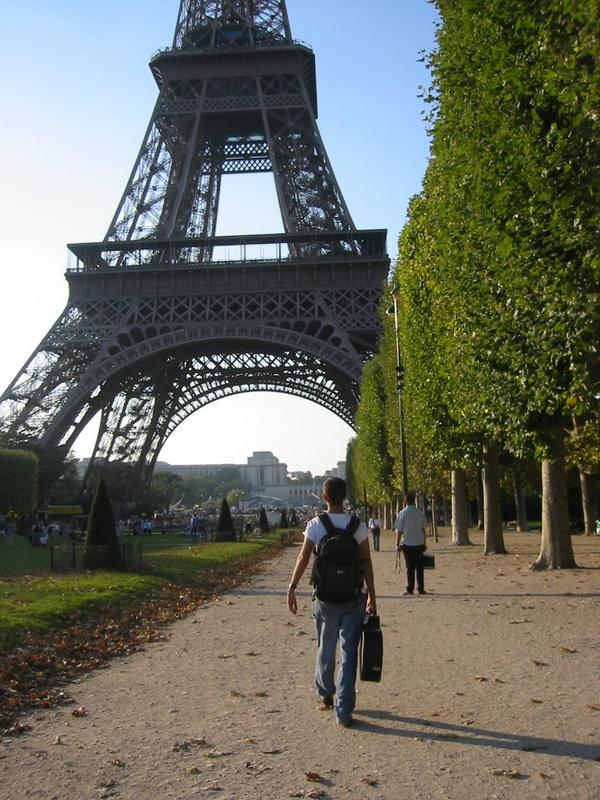 A1: After last week's topic, this might not be a big surprise but I studied abroad in....PARIS. #JAChat http://t.co/3gMuU9II68