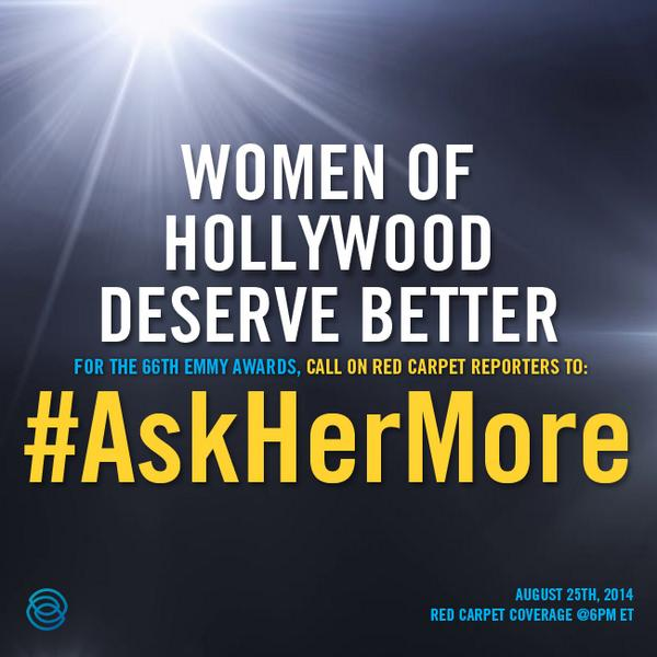 Thumbnail for #AskHerMore at the Emmys Sparks A Global Dialogue