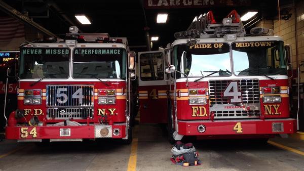 FDNY - Brand New - Engine 54 & Ladder 4 K http://t.co/XyvqNDCPJE