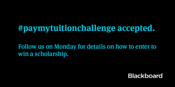 #paymytuitionchallenge accepted. Follow us on Monday for details. http://t.co/My9gZdl8ta http://t.co/YTZIaEwzd5