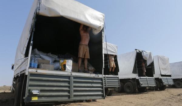 """В России утверждают, что все грузовики путинского """"гумконвоя"""" покинули территорию Украины - Цензор.НЕТ 6998"""