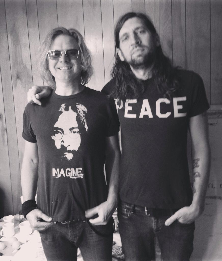 Imagine Peace.  Robert & Fred http://t.co/F6DiBY5j5a