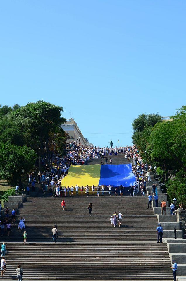 В субботу Одесса оденется в национальные цвета - Цензор.НЕТ 9461