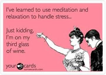 Relax, meditate to handle stress. http://t.co/TZ2cCcH2Fi