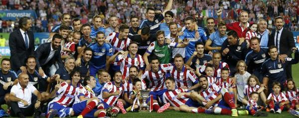 Atletico Madrid beat Real Madrid 1 0 (2 1 aggregate) to win Spanish Super Cup [Highlights]
