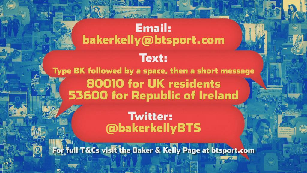 """Make a rash prediction! Contact @BakerKellyBTS & say on air Monday """"You can play this back at the end of the season!"""" http://t.co/OBETDP2V95"""