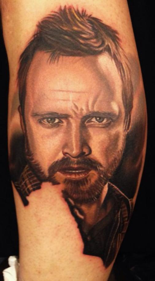 breaking bad jesse tattoo images galleries with a bite. Black Bedroom Furniture Sets. Home Design Ideas