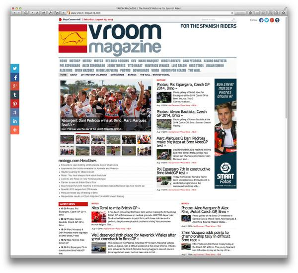 Vroom Magazine gets a lean clean new look as part of Vroom Media's rebranding. http://t.co/kIMikkj2q5 http://t.co/1Q8dbHfBnD