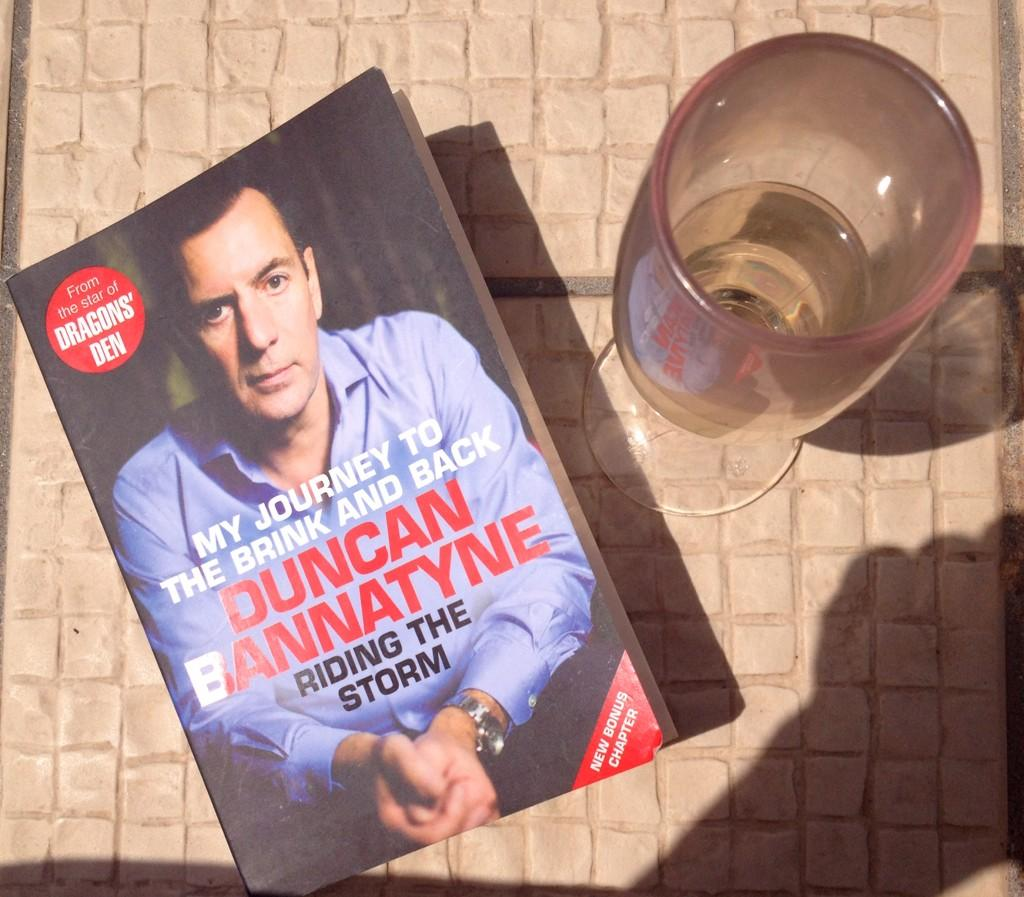RT @PaulaBangle1: Inspirational book from @DuncanBannatyne - it's not going to last the holiday, almost finished by the end of day 1!! http…