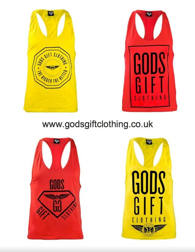 Checkout all the New style @GodsGiftLTD Vests, Hoodies & Joggers at http://t.co/F5xSYacuoT http://t.co/Np7A4zyvxP