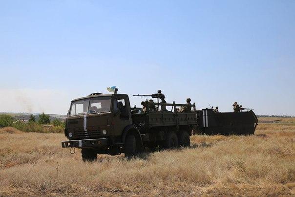 Военнослужащие отбили атаку на блокпост под Мариуполем. Задержано несколько террористов, - СМИ - Цензор.НЕТ 2051
