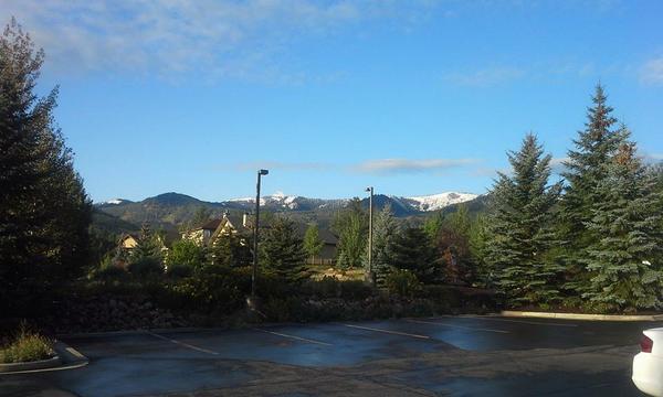 First Snow of the season: Aug 23, 2014! http://t.co/NcNZSuBGKJ