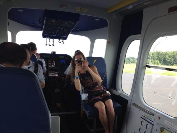 Inside Wingfoot One cabin. http://t.co/DcaF84GtGQ