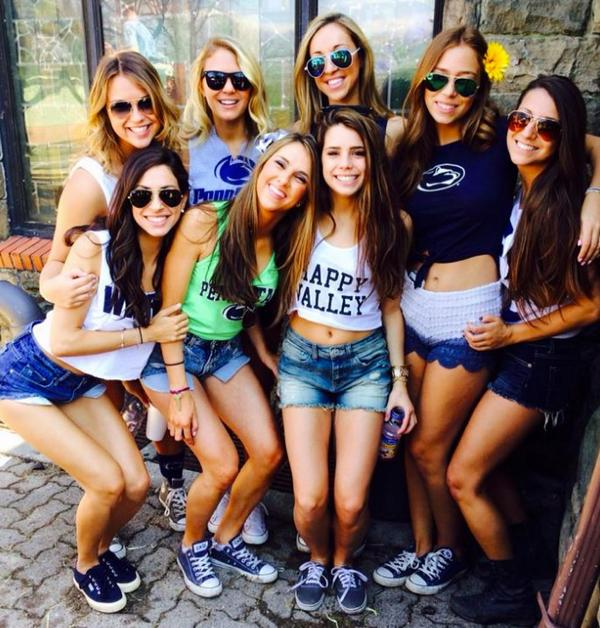 penn state college girls