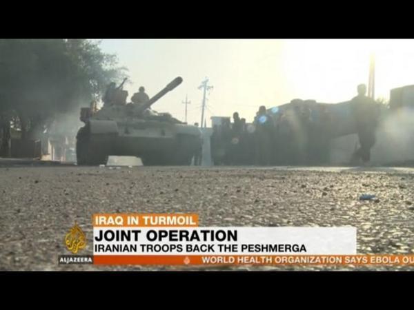 قوات إيرانية تساند وتحارب مع البيشمرجة في العراق http://t.co/kwsk1DnViB