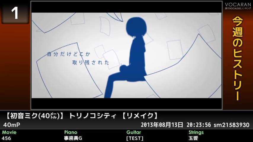 週刊VOCALOIDとUTAUランキング #359・301 [Vocaloid Weekly Ranking #359] BvxuJnhCYAA8wIO