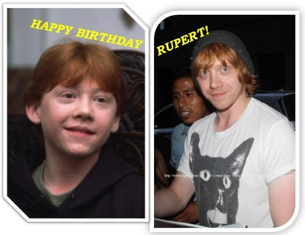 HAPPY BIRTHDAY RUPERT! Let's see if we can get #HappyBirthdayRupertGrint trending worldwide! http://t.co/scdBxh8I3Z