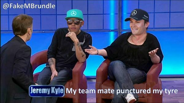 """""""@FakeMBrundle: The only way Merc will sort these two out.. http://t.co/ybcUQTrmO0"""" classic"""
