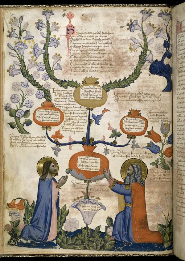 Probably the best #manuscript in the world #regiacarmina #pacinodibonaguida #illumination #medieval @britishlibrary http://t.co/q1g6l3yO5Z