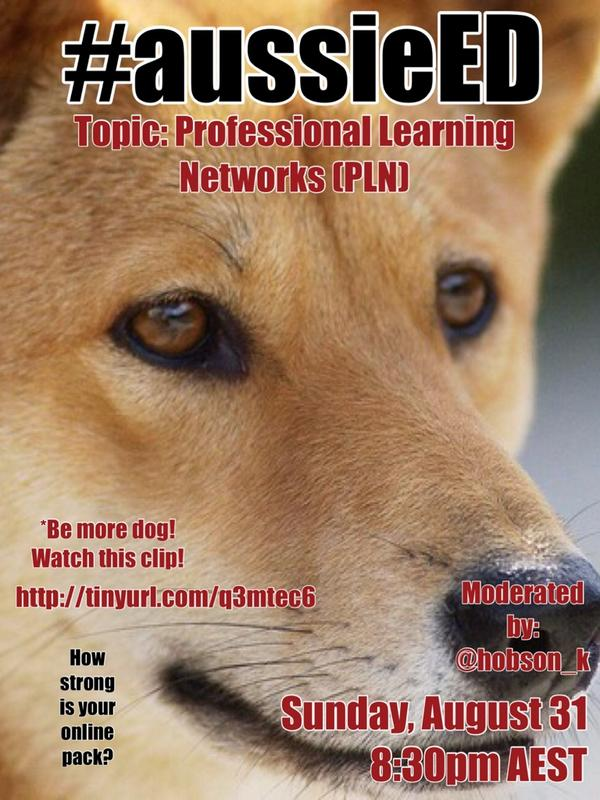 Next week's #aussieED chat: PLN - Professional Learning Networks with @hobson_k http://t.co/tUUaztYERJ http://t.co/AdgfyQRqEz