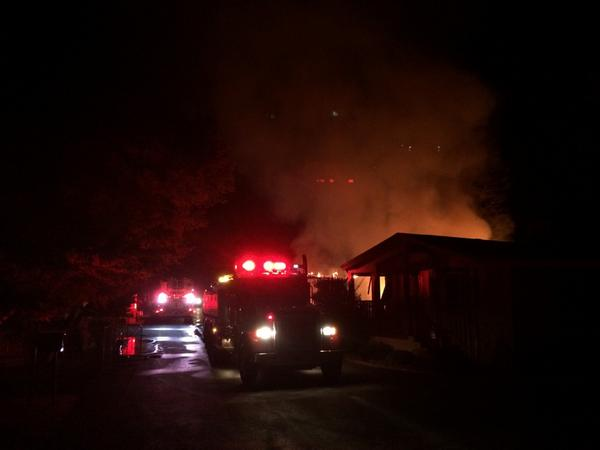 """Napa fire says """"numerous"""" injuries reported in Napa area, but none at mobile home park where three homes destroyed. http://t.co/M0pXujzCcV"""