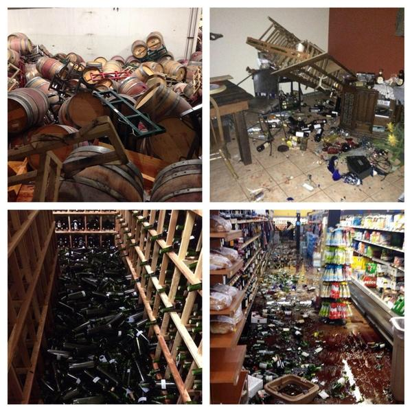 Hope west coast friends are ok. Looks like wine price will go up. #earthquake #napaquake http://t.co/d6d3fTs8UO