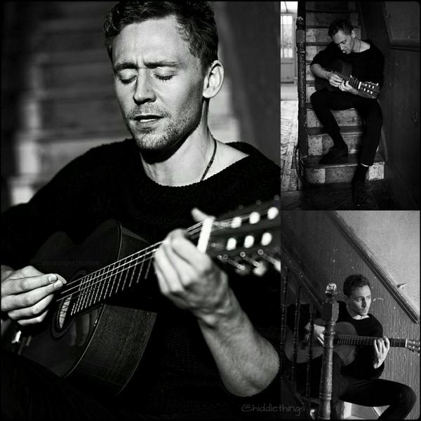 Tom Hiddleston Flaunt