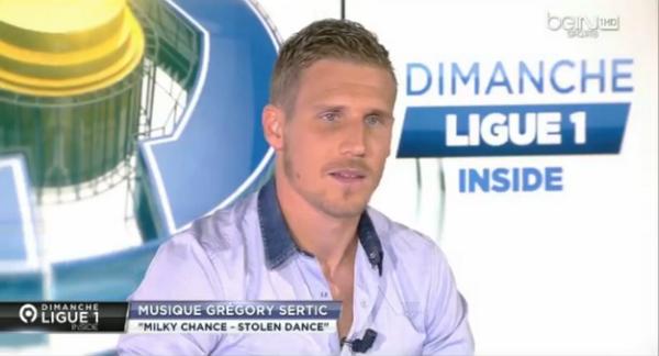 Les mots de Grégory Sertic sur le plateau de Dimanche Ligue 1 Inside