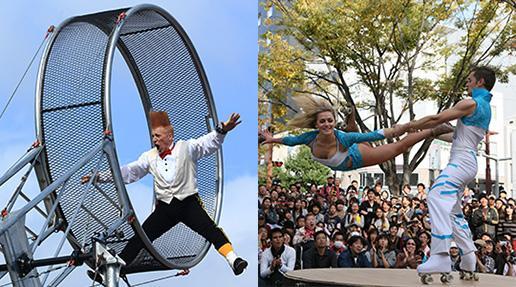 大道芸ワールドカップin静岡 2014年出演アーティスト・プレミアムステージ情報掲載。95組のアーティストが静岡に。そしてスペシャルゲストが2組登場! http://t.co/H2JkkGv0kn #daidogei2014 http://t.co/jLaIDPlcXa