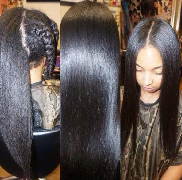 Black Girl Problems On Twitter Quot Silk Press On Natural
